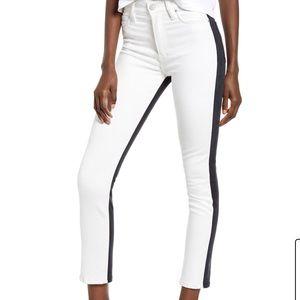 Black & White Hudson Jeans
